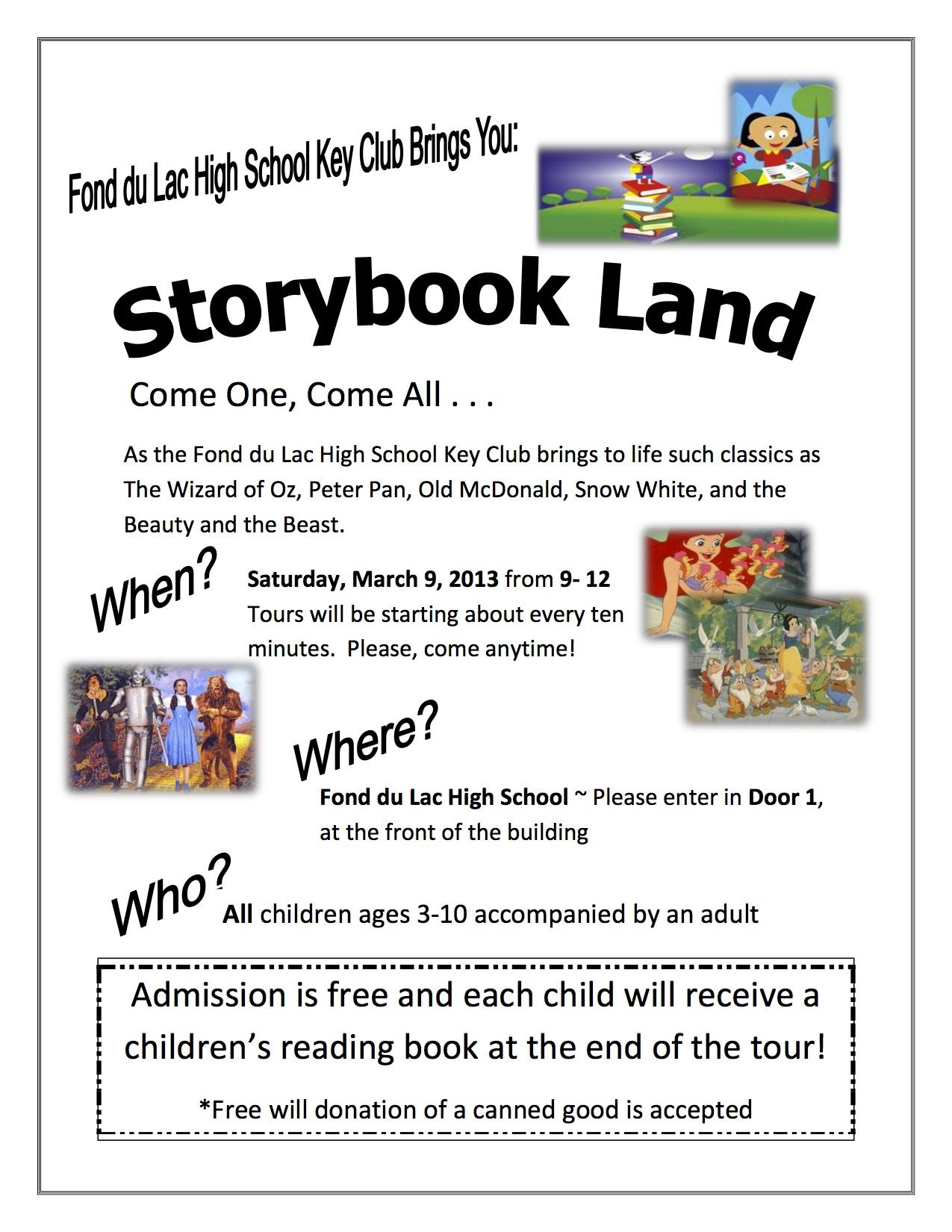 Storybook Land Flyer