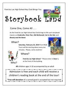 Storybook Flyer 2014